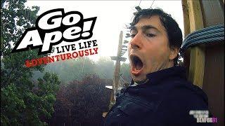 GO APE IN A THUNDER STORM!!! (Alexandra Palace, London)