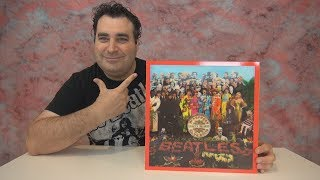 The Beatles Sgt. Pepper Lonely Hearts Club Band 50th Anniversary  Super Deluxe Edition Unboxing !!!