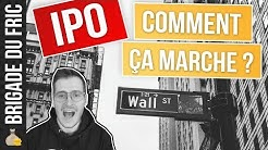 IPO - Introduction en bourse - comment ça marche