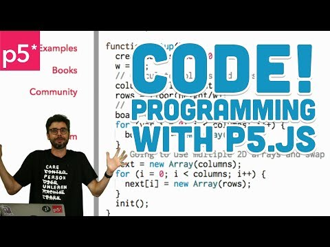 画像2: 1.1: Code! Programming for Beginners with p5.js www.youtube.com