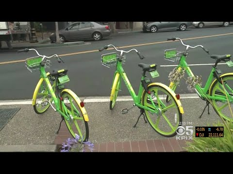 New Bike Share Company 'Limebike' Rolls Into Bay Area