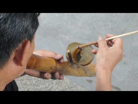 20060708 chinese bamboo water pipe youtube. Black Bedroom Furniture Sets. Home Design Ideas