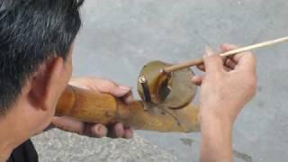20060708 Chinese bamboo water pipe
