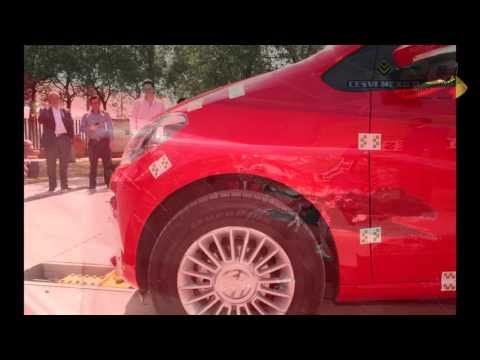 Low-Speed Crash Test VW UP!
