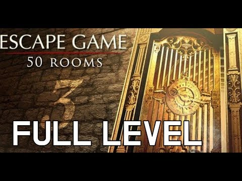 Escape Game 50 Rooms 3 Walkthrough - Full Level - Level 1 To 50 (BusColdApp)