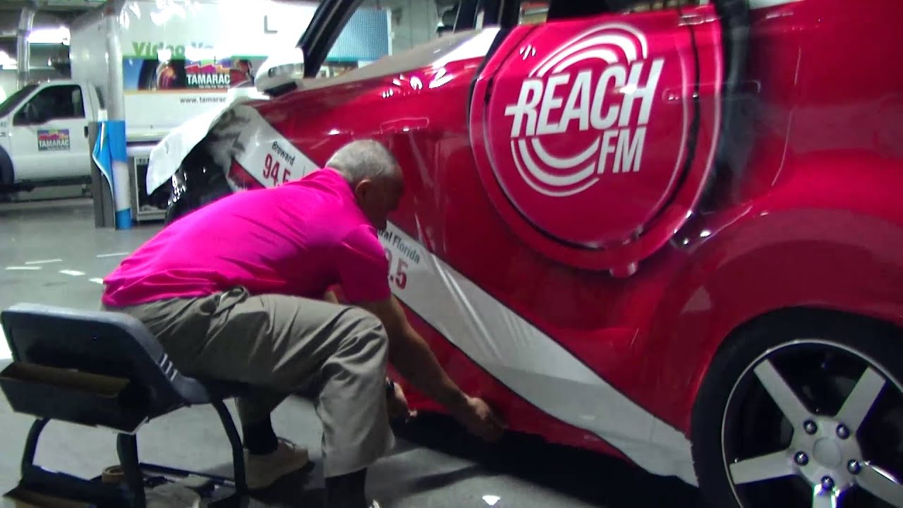 Car Shows In Florida >> The Entire Printing and Car Wrap Process | AdGraphics