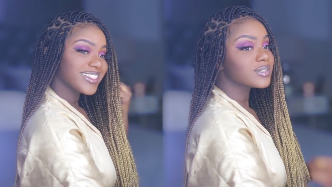 How To Do Box Braids in Under an Hour!!! ft. Neat n Sleek