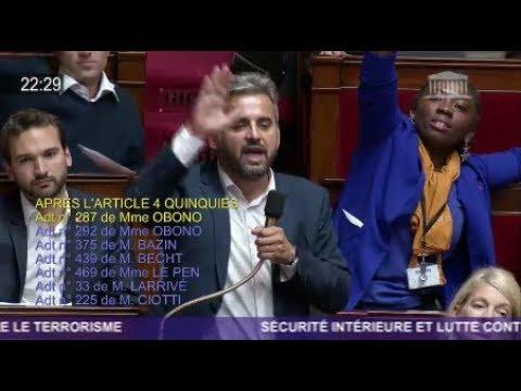 CLASH A L'ASSEMBLEE - Gros coups de gueule de Corbière et Ruffin (FI) face aux LREM et FN