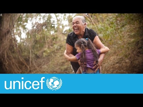 A great grandmother giving all she has - love | UNICEF
