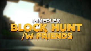 """Block Hunt [Minecraft Minigame] /w Gizzy & FRZ! - """"CLUCK CLUCK"""""""