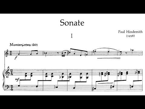 Paul Hindemith - Oboe Sonata (1938)