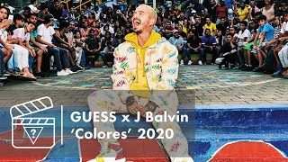 Behind the Scenes: GUESS x J Balvin 'Colores' Campaign 2020