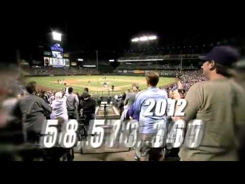 60,000,000th fan at Coors Field