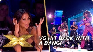 V5 hit back with a BANG | Live Show 4 | X Factor: Celebrity