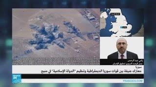 معارك عنيفة بين قوات سوريا الديمقراطية و