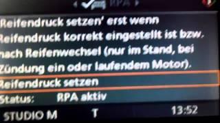 Reset Reifenpanne (RPA)BMW E60 530d