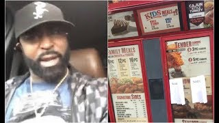 Young Buck Goes Off On Popeyes For Running Out Of Chicken Sandwiches