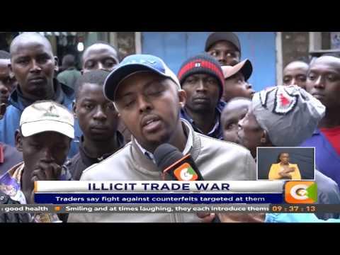 Downtown Nairobi traders oppose war on illicit trade