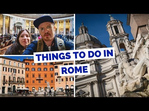 20 Things to do in Rome, Italy Travel Guide