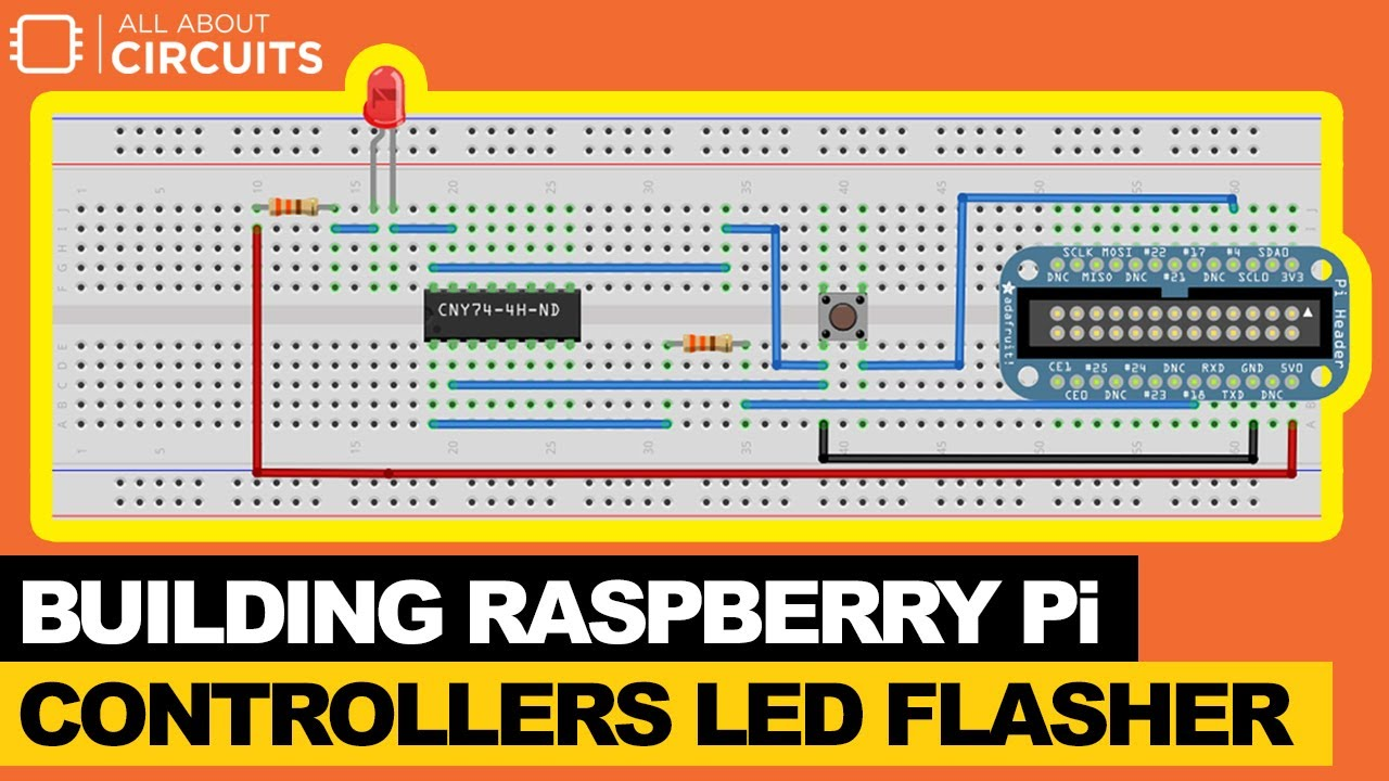 Led Flasher 2transistors Schematic Design