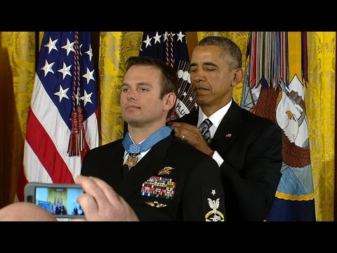 Navy Seal awarded Medal of Honor