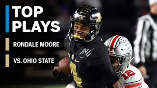 Top Plays: Rondale Moore Highlights vs. Ohio State Buckeyes | Big Ten Football