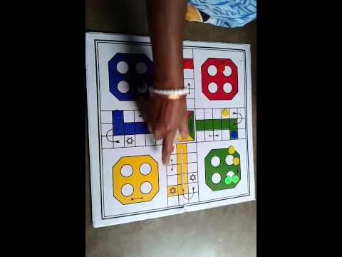 Game : How to play LUDO BOARD GAME