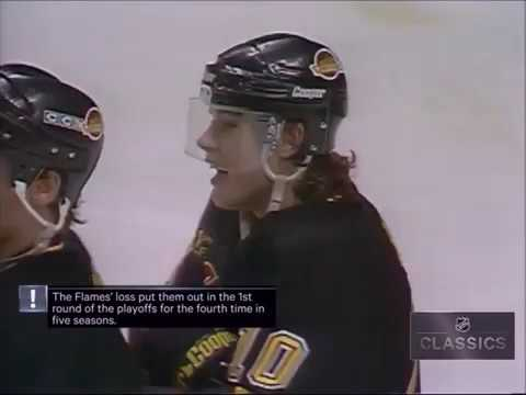 Pavel Bure Wins It For Canucks Against Flames In Game 7 1994 Youtube