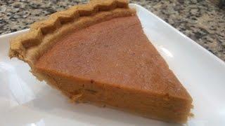 Receta Pie de Camote, pie Batata Dulce,
