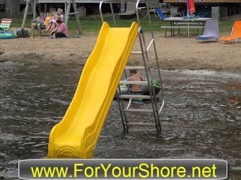 Shoremaster Slide For Water Or Beach Youtube