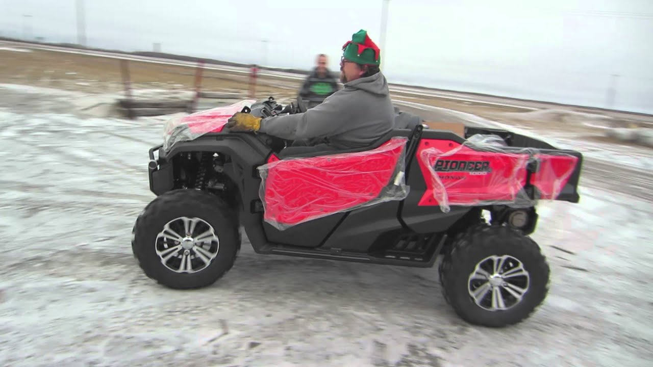 2016 Honda Pioneer 1000 5 Delivery From Santa S Elves