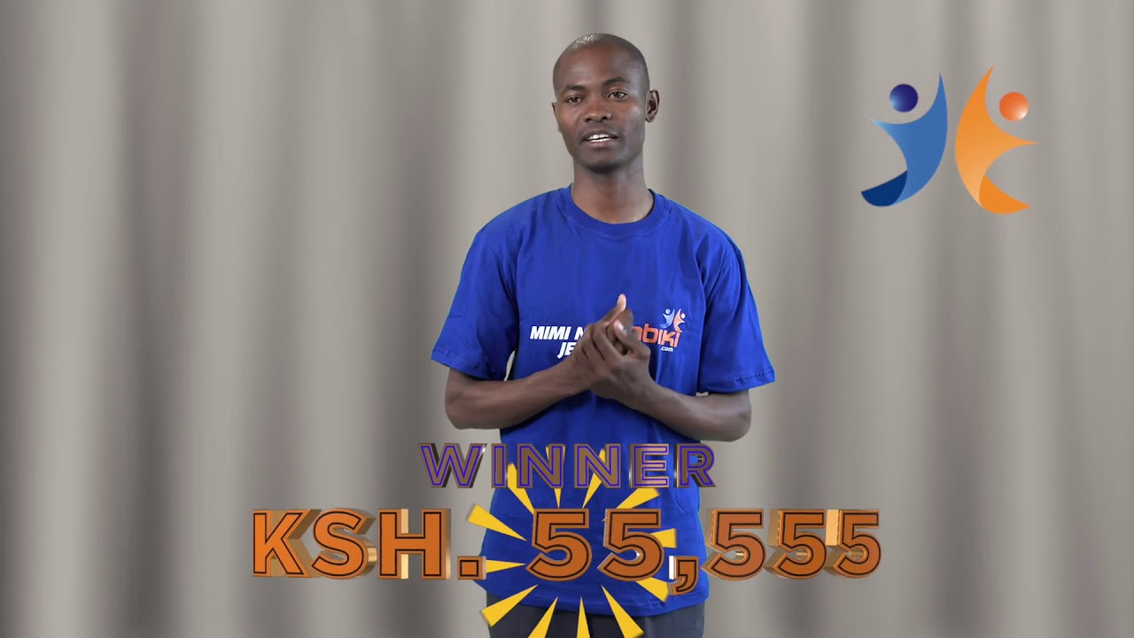 shabiki Jackpot Mbao 024 Winner - Benard Otieno