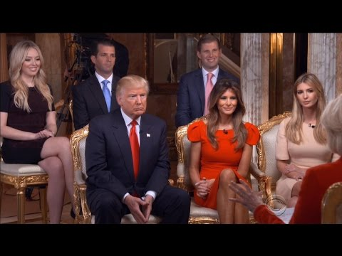 Donald Trump's Family Returns to Work With Extra Security After Winning Election