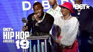 DaBaby Takes Home The Best New Hip Hop Artist Award! | Hip Hop Awards '19