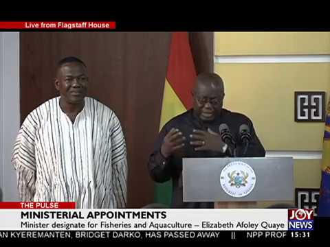 Ministerial Appointment - The Pulse on Joy News (12-1-17)