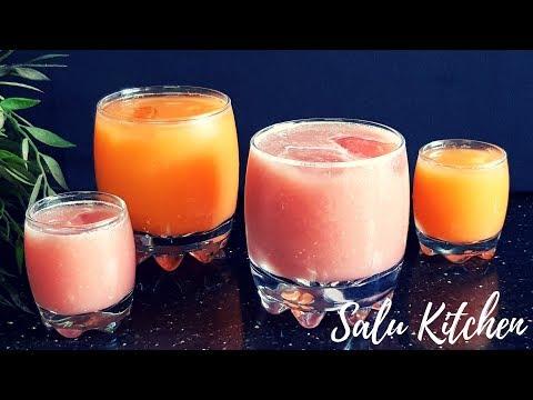 ചൂടിനെ ചെറുക്കാൻ മറ്റൊരു വെറൈറ്റി ഡ്രിങ്ക്സ് || Variety Heat-buster Drinks || Salu Kitchen
