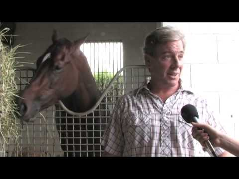 Interview with Trainer Wesley Ward for South Beach Stake