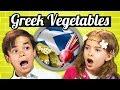 KIDS EAT GREEK VEGETABLES!   Kids Vs. Food