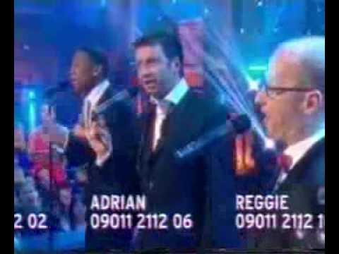Adrian Edmondson - Fame Academy 2005 - day 6 (with Nick and Reggie)