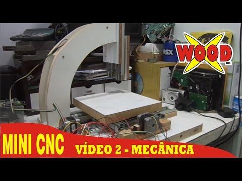 X-WOOD - 2# MINI CNC FÁCIL E BARATA - FAÇA VOCÊ MESMO. DIY CNC - VIDEO 2