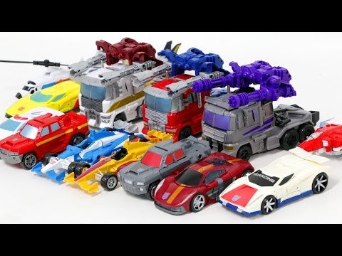 Transformers Combiner Wars Ultra Prime Ultra Maxmus Menasor 14 Vehicle Combine Robot Car Toys