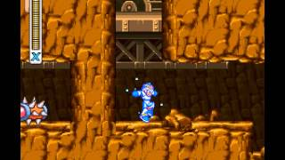 Mega Man X - Mega Man X Walkthrough Part 4 - User video