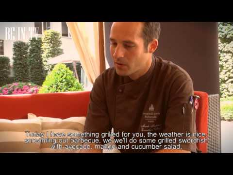 CHEF TIME 06 - Marek Fichtner (Kempinski) -  BBQ: Swordfish and avocado/mango salad