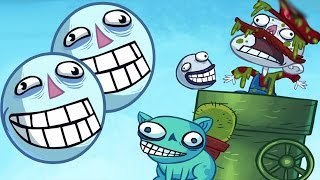 Troll Face Quest Video Games - Trolling w/ Agar.io & Pokemon Go Bulbasaur