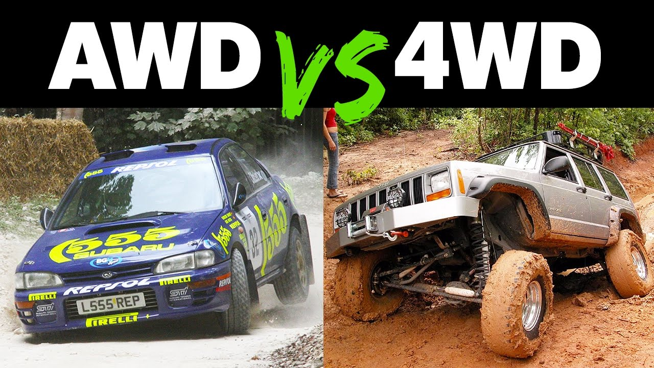 the differences between awd and 4wd youtube. Black Bedroom Furniture Sets. Home Design Ideas