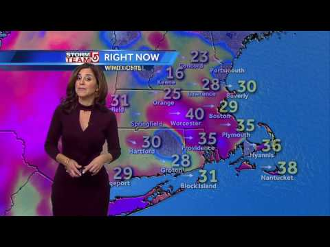 Cold, windy day: Cindy's latest forecast