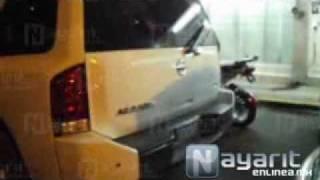 Detienen en Tepic a 4 jóvenes con armas y carros blindados