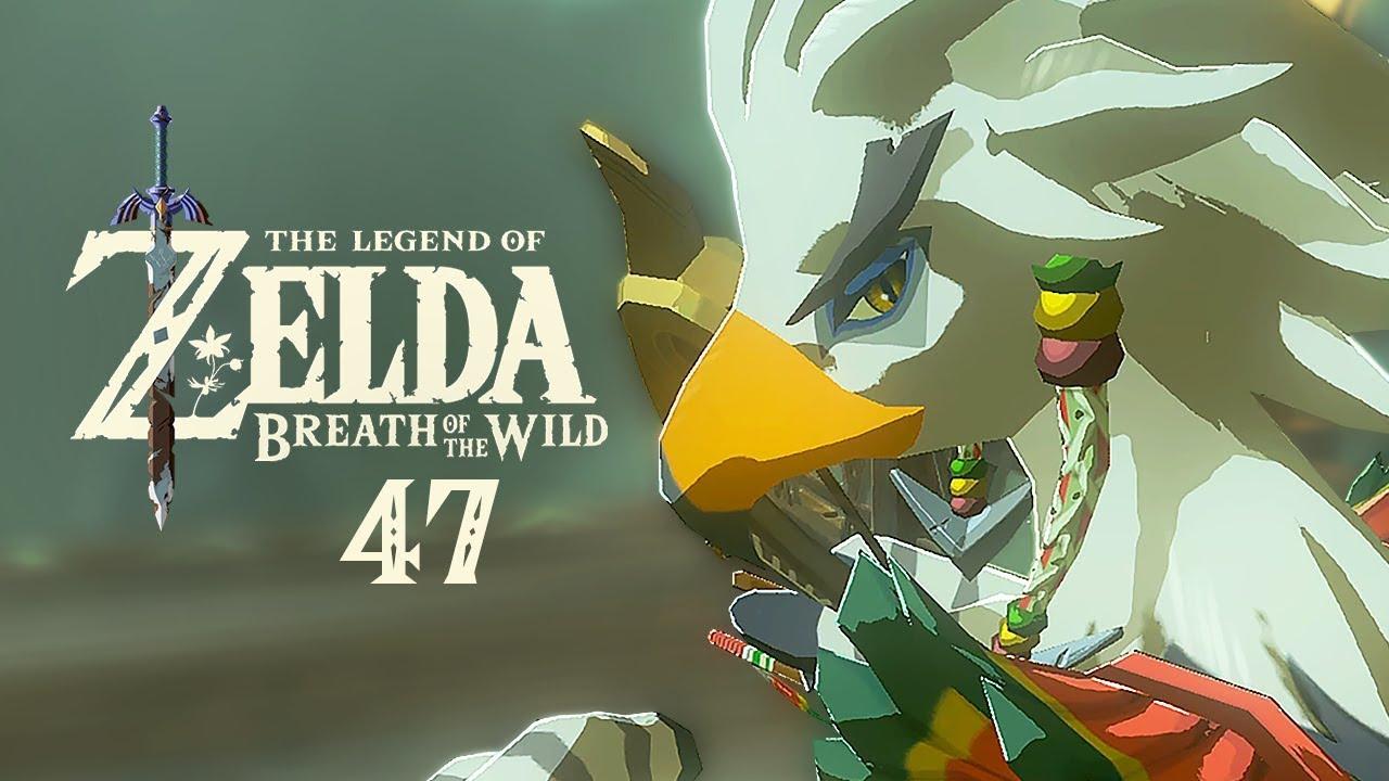 The Legend Of Zelda Breath Of The Wild 47 Teba The Rito Warrior