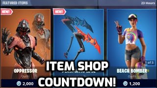 *New* Fortnite Oppressor Skin! (Item Shop Countdown Live)