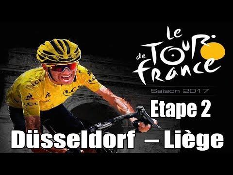 TOUR DE FRANCE 2017 Etape 2 : Düsseldorf -  Liège